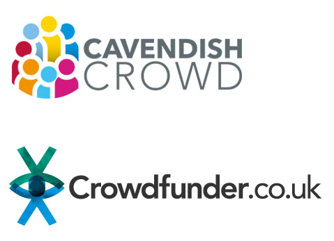 cavendish crowd and crowdfunder logos