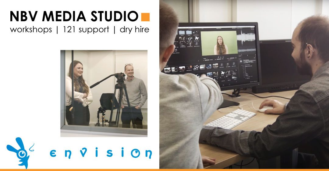Why should you invest in the NBV video training courses & studio hire?