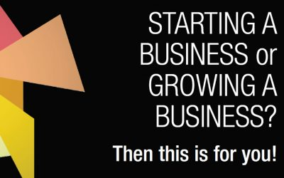 Starting a Business or Growing a Business? Then this is for you!