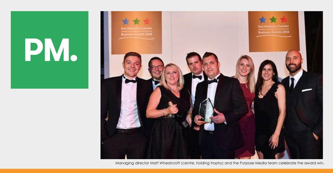 Purpose Media Celebrates Latest Award Win