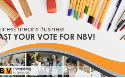 "A word from NBV's DCEO Joanna Clarke: ""We need your VOTE to support the young people of Nottingham!"""