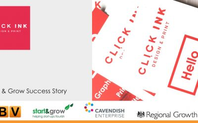 Click-Ink Derbyshire Start and Grow Success Story