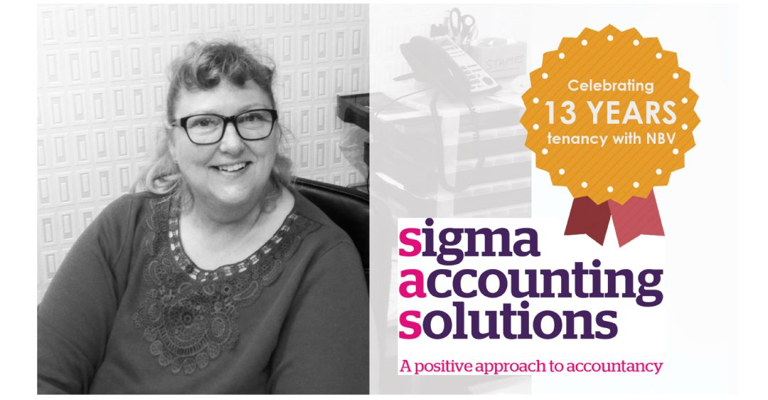 Successful growth from NBV's Tenant, Sigma Accounting Solutions Ltd