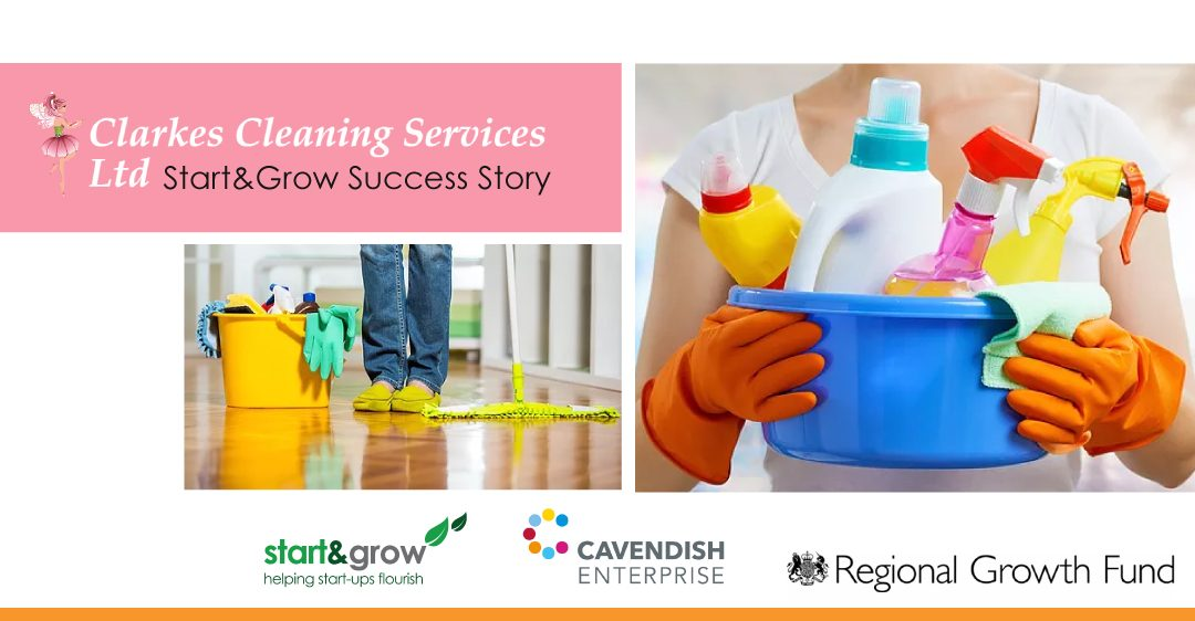 Clarkes Cleaning Services Sparkling Success with Start and Grow