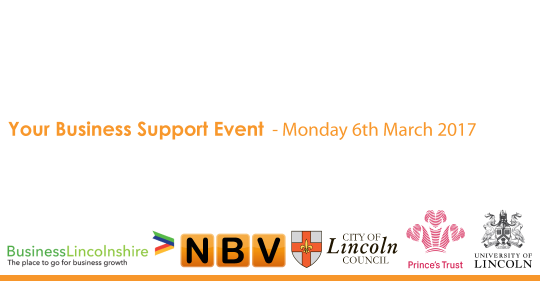 your business support event