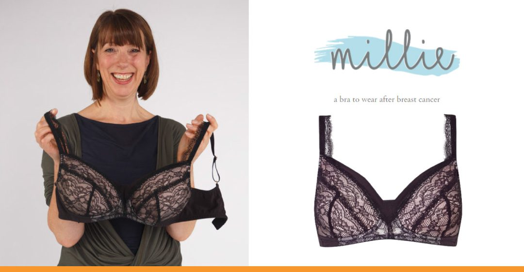 Millie – a bra for breast cancer, designed in Nottingham