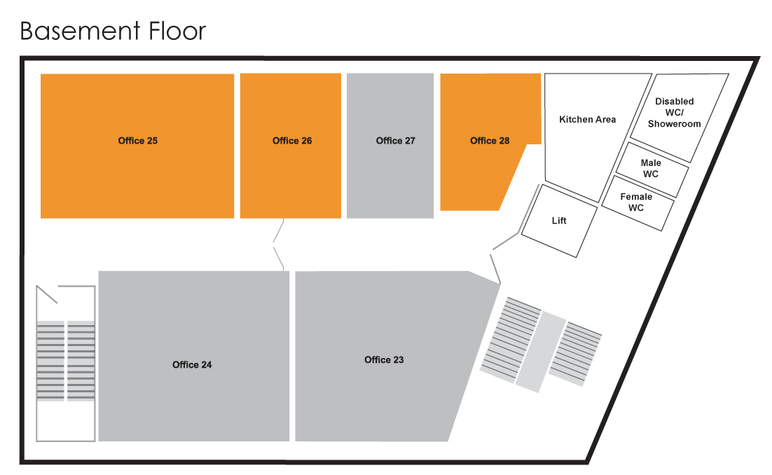 Mercury House Basement Floor