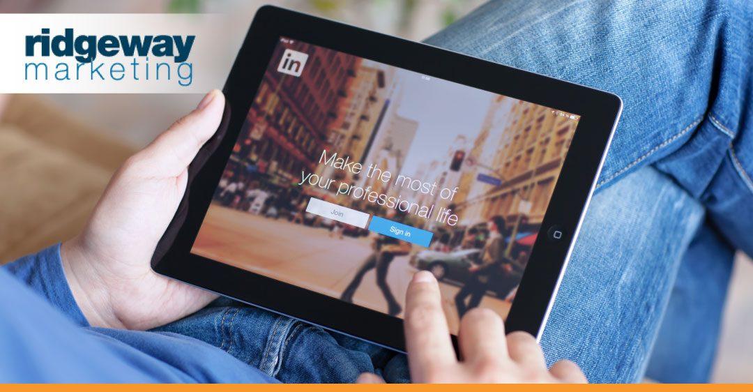 LinkedIn Ridgeway Marketing