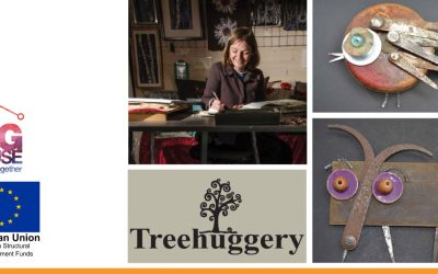 Upcycling, recycling and reusing – how one small business owner made the most of her skills and passion for repurposing everyday objects.