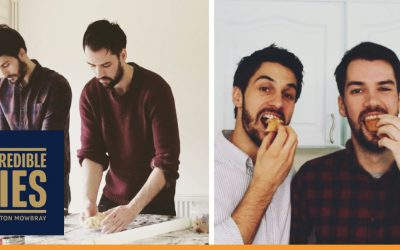 Brothers' appetite for luxury pies results in a recipe for success!