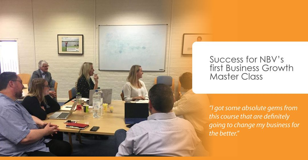Success for first Business Growth Master Class