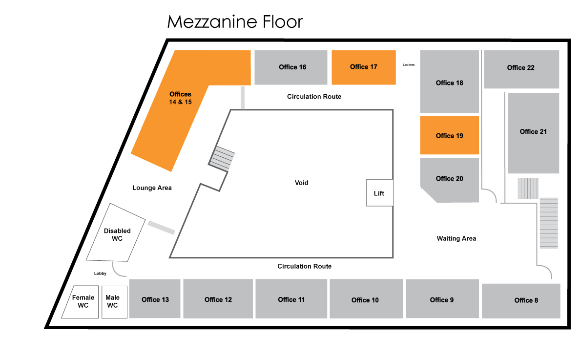 Mercury House Mezzanine Floor