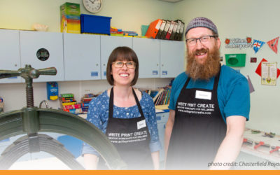 Derbyshire-based wife and husband team write, print and create their way into business!